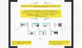 Copy of OPORTUNIDADES DE DESARROLLO REGIONAL A PARTIR DE LOS SERVICI