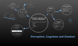 Perception, Cognition and Emotion