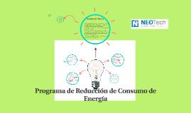 Programa de Reduccion de Consumo de Energia