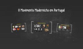 O Movimento Modernista em Portugal