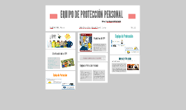 Copy of EQUIPO DE PROTECCION PERSONAL