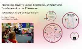 Promoting Social, Emotional, & Behavioral Development in the