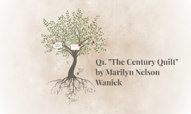 "Q1. ""The Century Quilt"" by Marilyn Nelson Waniek"