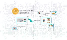 Evaluaciones del aprendizaje