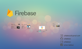 Firebase - Backend as a Service