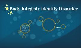 Body Integrity Identity Disorder