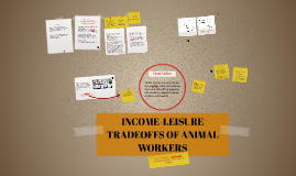 INCOME-LEISURE TRADEOFFS OF ANIMAL WORKERS