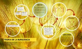 Copy of TEORIA DE LA BUROCRACIA