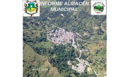 INFORME ALMACÉN MUNICIPAL