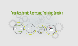 Copy of Peer Academic Assistant Training Session