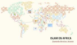 ISLAM EN AFRICA