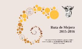 Ruta de Mejora 2015-2016 EST 32