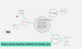 Crisis Briefing: Syria