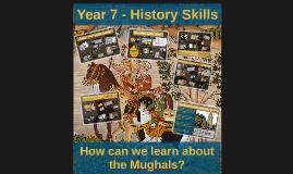 Year 7 - History Skills