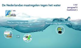 1HV H5 P8 De Nederlandse maatregelen tegen het water