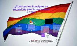 ¿Conoces los Principios de Yogyarkata para la comunidad LGTB