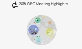 NGSS/WEC Meeting Overview