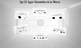 Copy of Las 22 leyes inmutables de la marca (17 - 22)