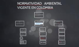 Copy of NORMATIVIDAD AMBIENTAL VIGENTE EN COLOMBIA