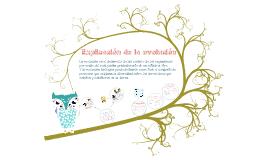 Explicación de la evolución