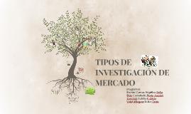 Copy of TIPOS DE INVESTIGACION DE MERCADO