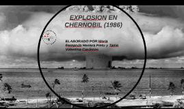 EXPLOSION EN CHERNOBYL (1986)