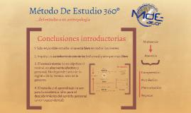 MdE 360 - De la antropología al estudio
