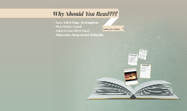Why Should You Read???