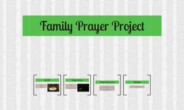 Family Prayer Project