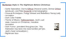 The Nightmare Before Chrismas