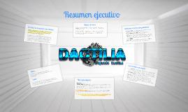 Resumen ejecutivo Dactilia: dejando huellas