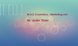 mac cosmetics the marketing mix essay Strategy and positioning analysis for mac makeupin 530 words please describe how marketing efforts and marketing mix will change with each phase in the product life cycle of a fictitious summer makeup kit from mac cosmetics' that focuses that includes a bronzer, highlighter, blush, bb cream, li.