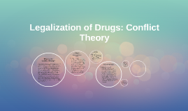 Legalization of drugs essay
