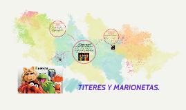 TITERES Y MARIONETAS.