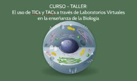 CURSO – TALLER: El uso de TICs y TACs a través de Laboratori