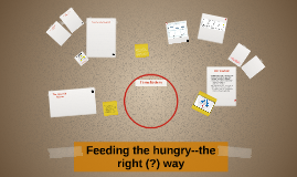 Feeding the hungry--the right (?) way