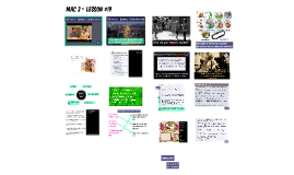 MAC 2 - Lesson #19