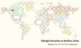 Sufragio Femenino en América Latina