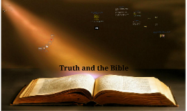 11 Truth and the Bible (CEN)
