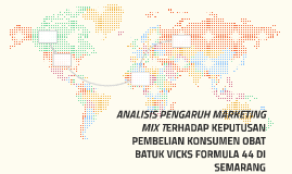 ANALISIS PENGARUH MARKETING MIX