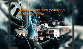 Método científico y método de ingeniería.