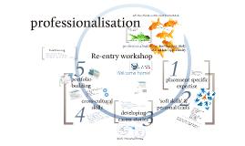 BTLH Professionalisation Re-entry