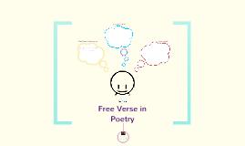 Copy of Free Verse Poetry