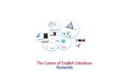 Task 2 - The Canon of English Literature (Romantic)