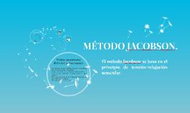 MÉTODO JACOBSON.