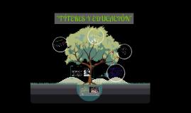 Copy of Los Títeres en la Educación Inicial