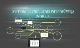 SISTEMA DE ENCUESTAS PARA MÓVILES (SIMOEN)