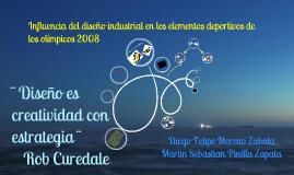 Influencia del diseño industrial en los elementos deportivos de los olímpicos del 2008