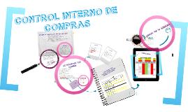 CONTROL INTERNO DE COMPRAS- AUDITORIA.