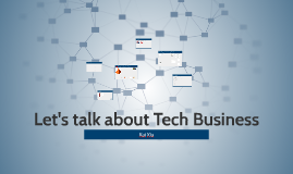 Let's talk about Tech Startups